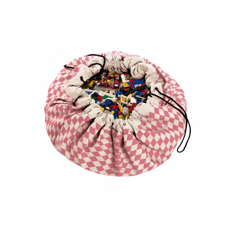 Saco de Brinquedos - Diamond Rosa