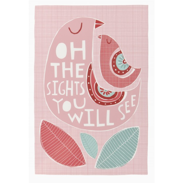 "Poster ""Sights you will see"""