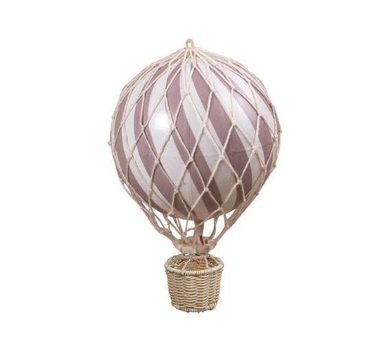 Balão de ar rosa velho, 10 cm