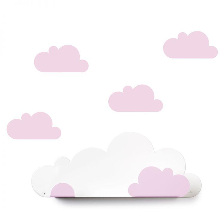 Prateleira Nuvem - Rosa