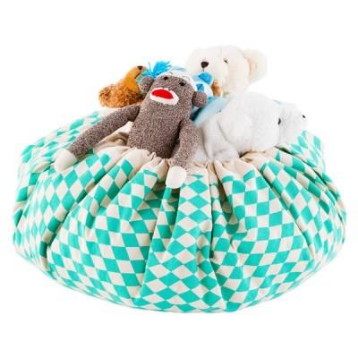 Saco de Brinquedos - Diamond Turquesa