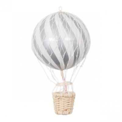Balão de ar cinza, 10 cm