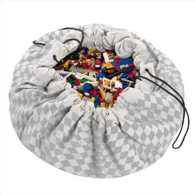 Saco de Brinquedos - Diamond Cinza