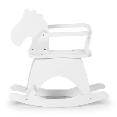 Cavalinho de Madeira - Branco