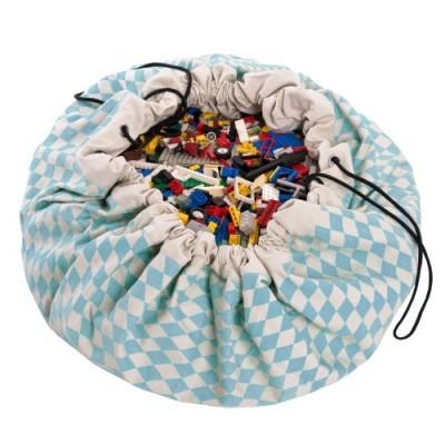 Saco de Brinquedos - Diamond Azul