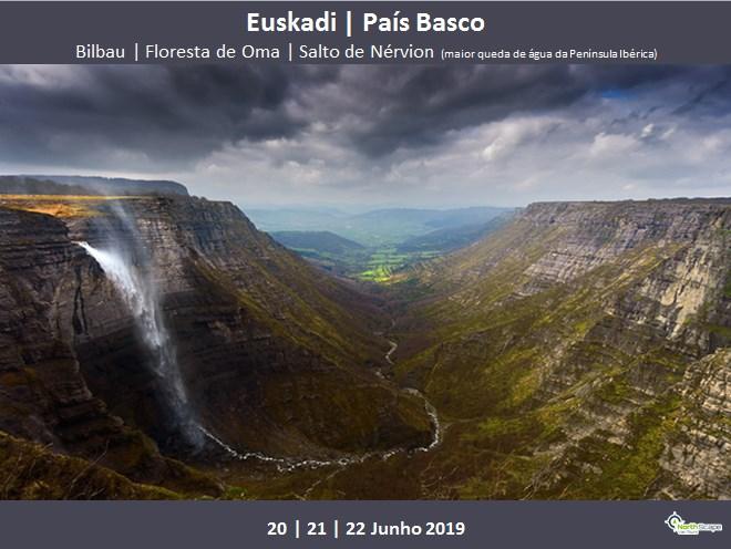 Alojamento Q.Duplo c/MP *2 noites   Autocarro   Guias   Seguro - País Basco