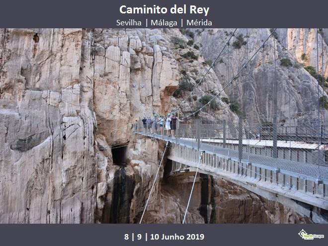 Alojamento Q.Duplo c/MP *2 noites   Autocarro   Bilhete Caminito   Guias   Seguro - Caminito Del Rey