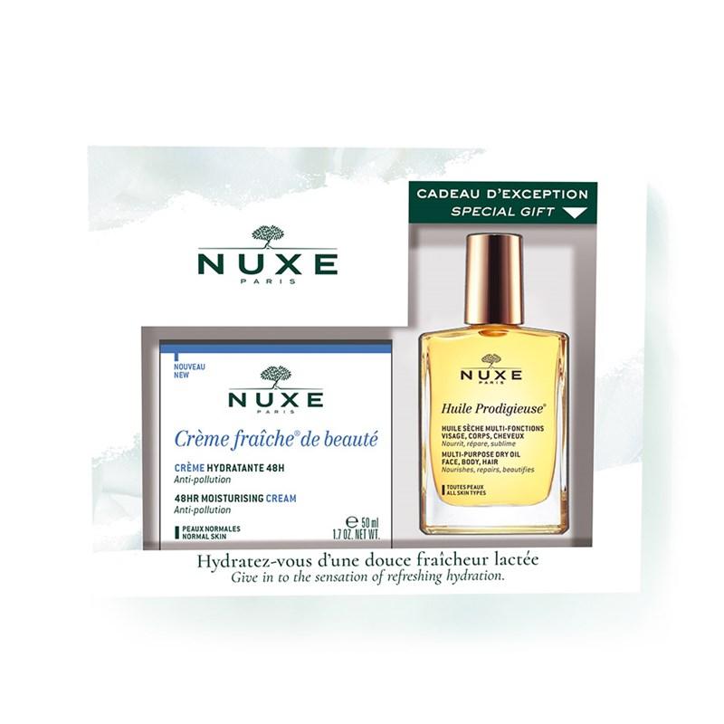 Nuxe - Pack Crème Fraîche de Beauté Pele Normal 50+30ml