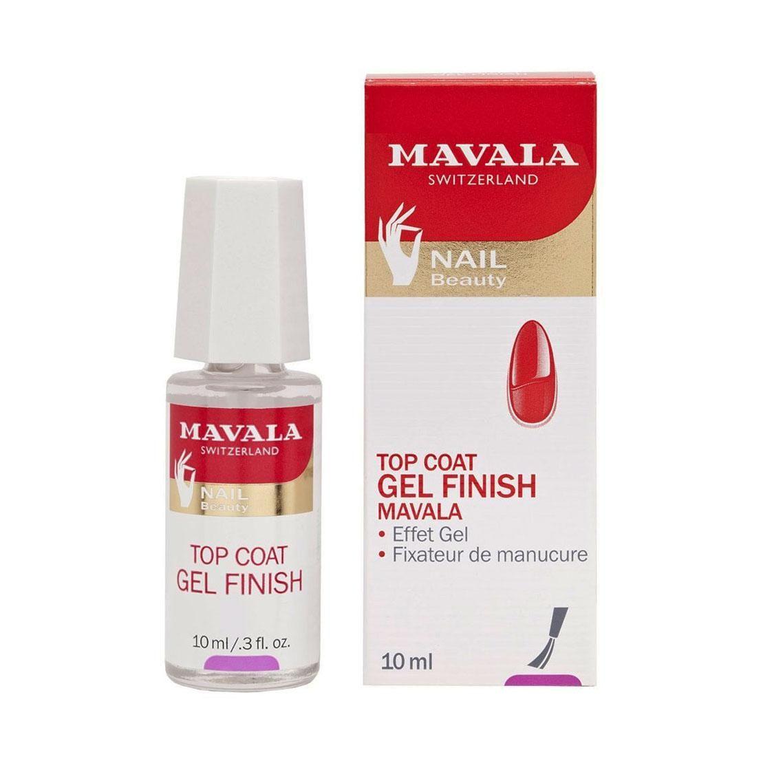 Mavala - Top Coat Gel Finish 10ml