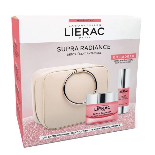Lierac - Coffret Supra Radiance Gel-Creme OFERTA Sérum Olhos