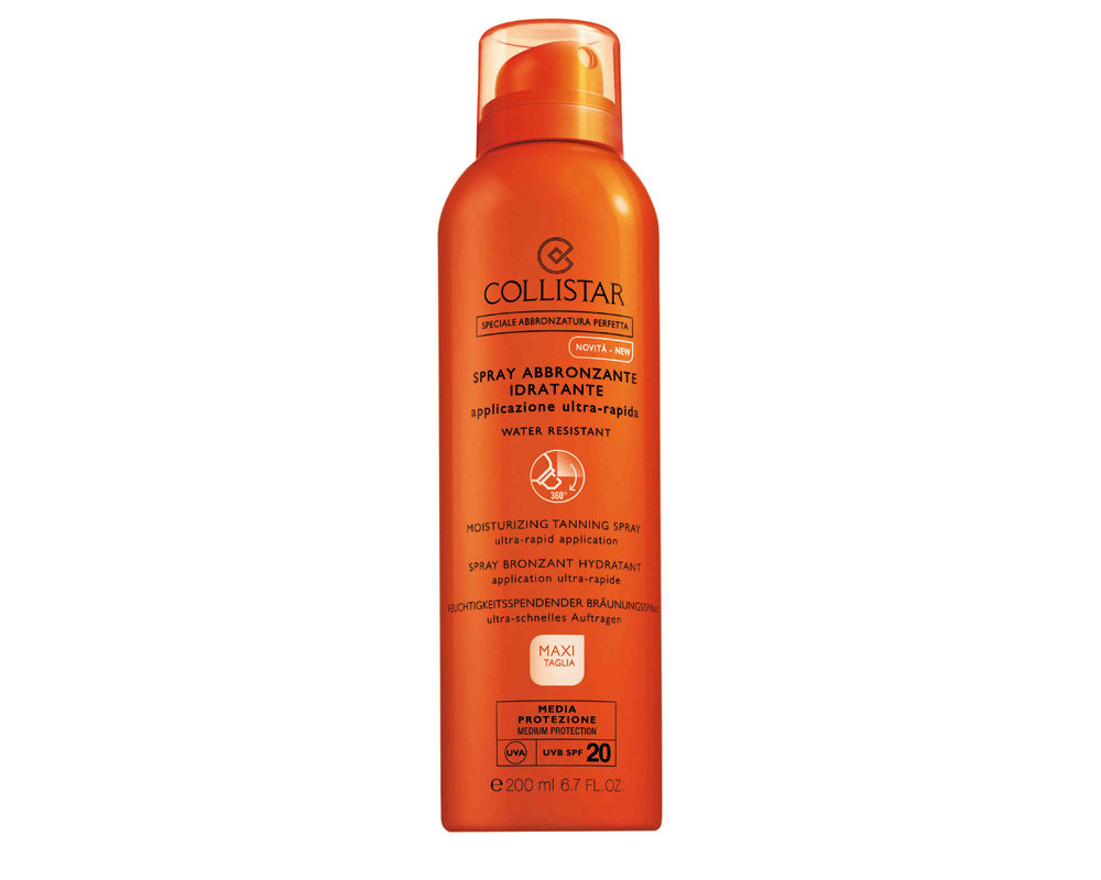 Collistar - Spray Solar Bronzeador Hidratante SPF20 200ml