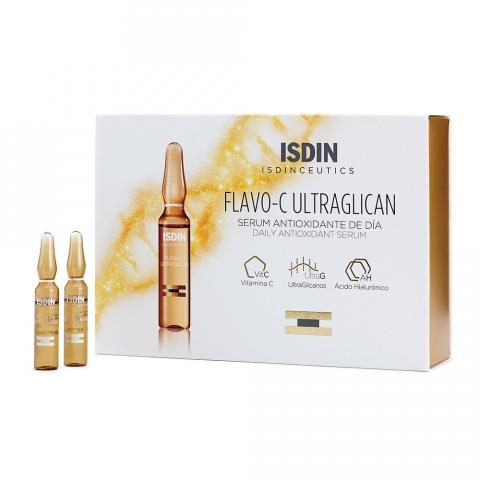 Isdin - Isdinceutics Flavo-C Ultraglican Ampolas 30x2ml