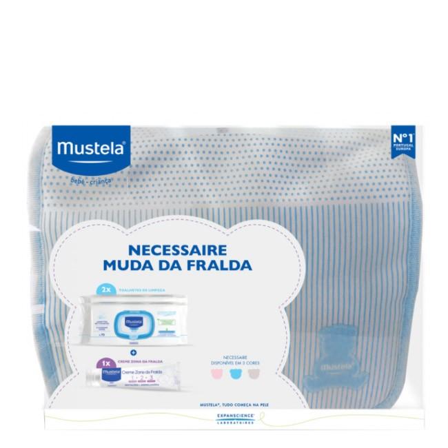 Mustela - Necessaire Muda Fralda Azul