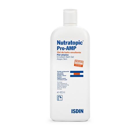 Isdin - Nutratopic Pro-AMP Gel de Banho Emoliente 400ml