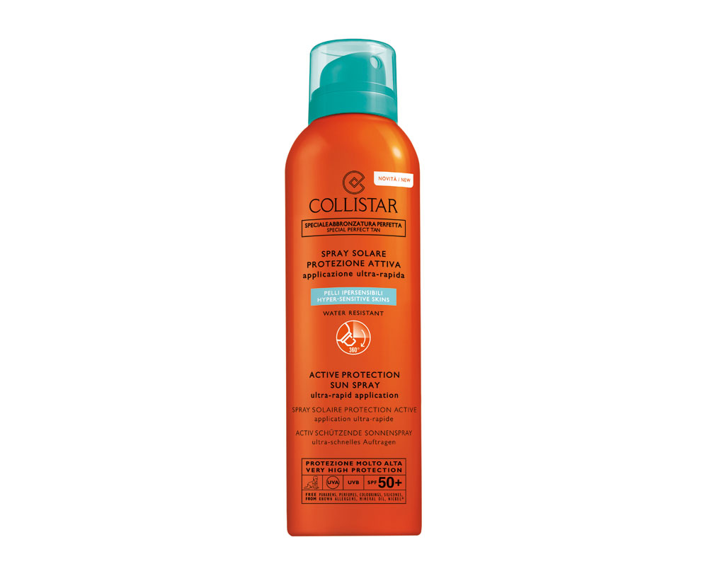 Collistar - Active Protection Spray Solar Peles Hipersensíveis SPF 50+ 150ML