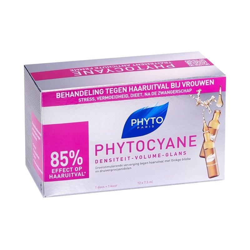 Phyto - Phytocyane Ampolas 12x7,5ml
