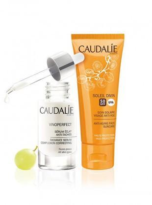 Caudalie - Coffret Vinoperfect  Sérum 30ml + Soleil Divin SPF50 40ml