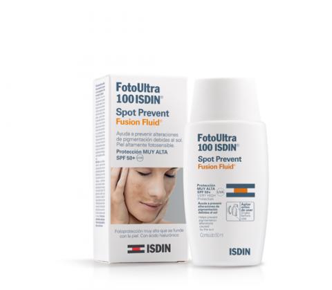 Isdin - Fotoultra 100 Spot Prevent Fusion Fluid SPF50+ 50ml