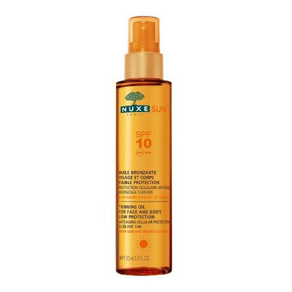 Nuxe - Sun óleo solar para rosto e corpo SPF10 150ml