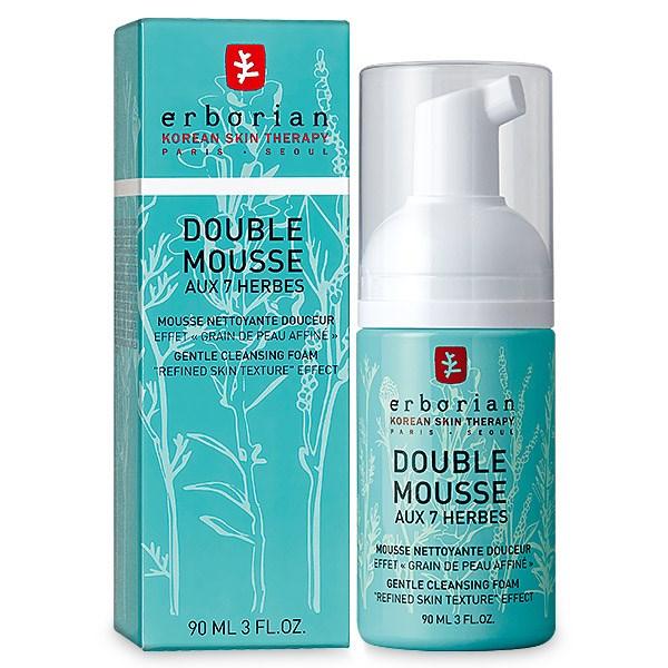 Erborian - Double Mousse aux 7 Herbes Espuma de Limpeza 90ml