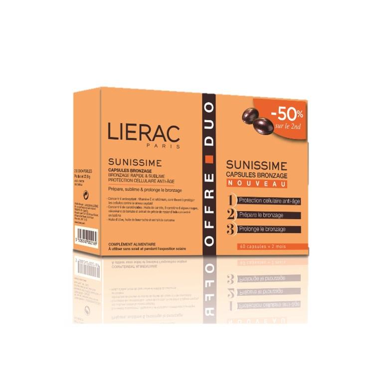 Lierac - Sunissime Cápsulas Bronzeado 2X30caps