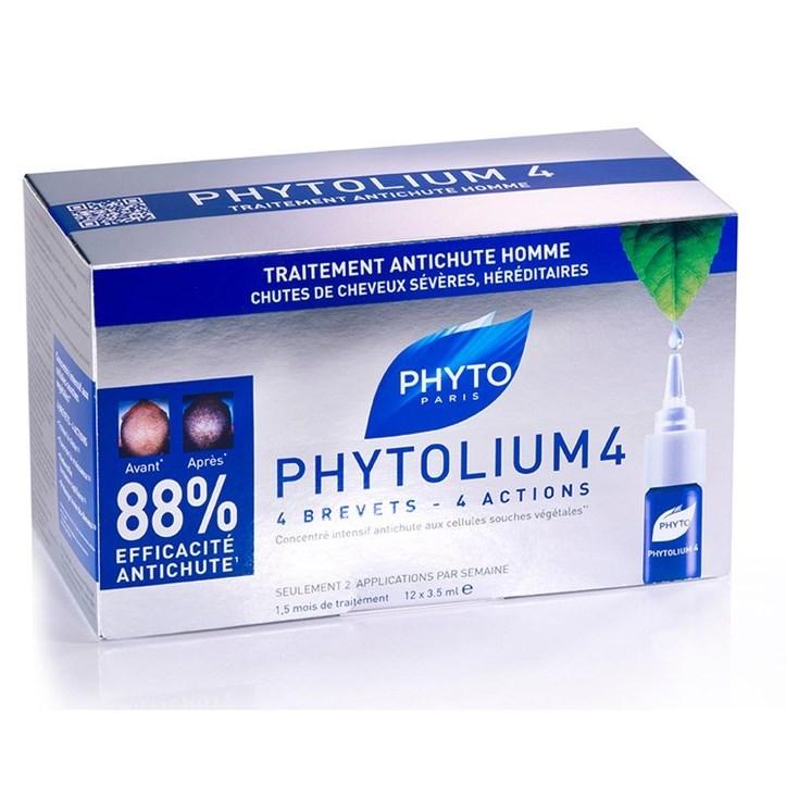 Phyto - Phytolium 4 Concentrado Antiqueda 3,5mlX12