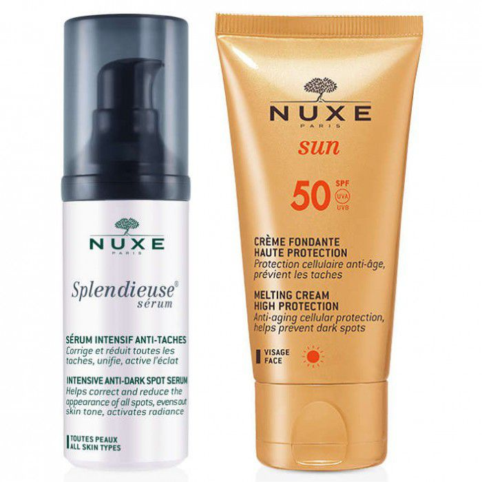 Nuxe - Coffret Splendieuse Sérum OFERTA Creme Solar SPF50 30+50ml