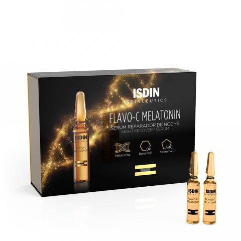 Isdin - Isdinceutics Flavo-C Melatonin Sérum reparador de Noite 30x2ml