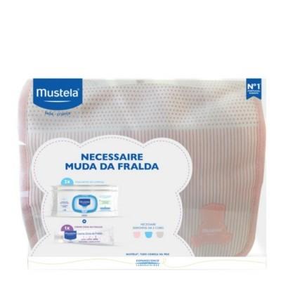 Mustela - Necessaire Muda Fralda Rosa