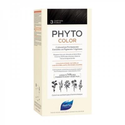 Phyto - Phytocolor Coloração Permanente 3 Castanho Escuro