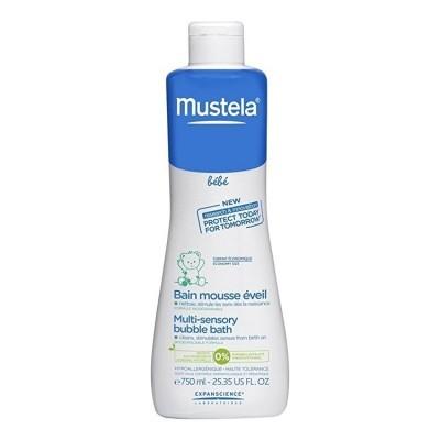 Mustela - Banho de Espuma Multi-Sensorial 750 ml