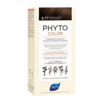 Phyto - Phytocolor Coloração Permanente 6.77 Marron Claro Cappuccino