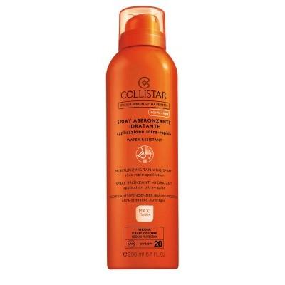 Collistar - Spray Solar Bronzeador Hidratante SPF20 200ml