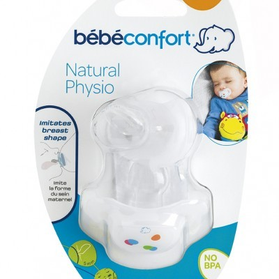 Bébéconfort - 2 Chupetas Natural Physio 6m+ Silicone