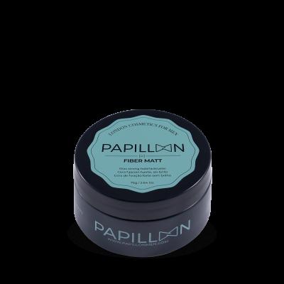 Papillon - Fiber Matt Cera Seca Fixação Forte e Flexível 75gr