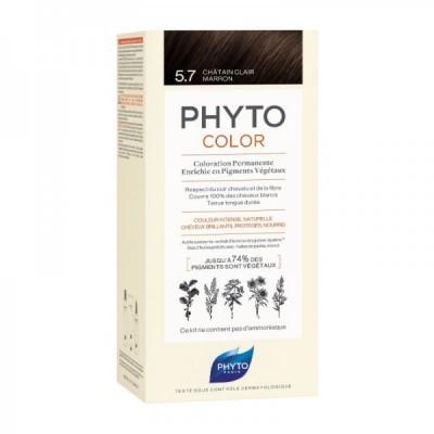 Phyto - Phytocolor 5.7 Castanho Claro Marron