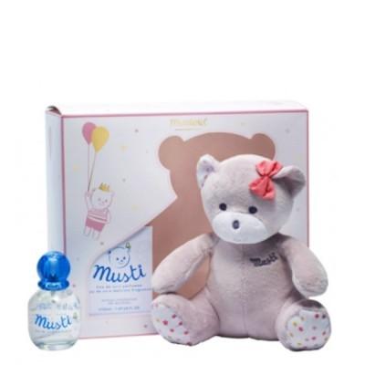 Mustela - Eau de Soin Musti 50 ml OFERTA Urso Rosa