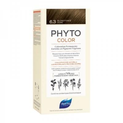 Phyto - Phytocolor Coloração Permanente 6.3 Louro Escuro Dourado