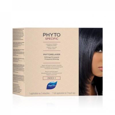 Phyto - Specific Phytorelaxer Alisamento Índice 1 Cabelos Frisados Crespos Finos