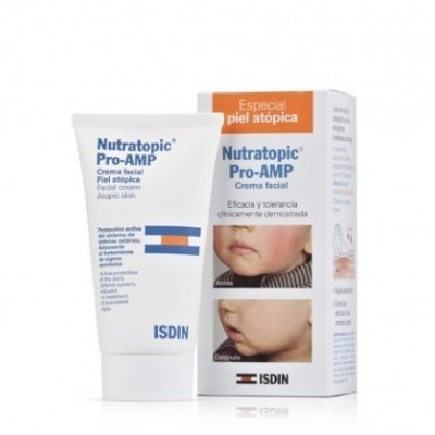 Isdin - Nutratopic Pro-Amp Creme Facial 50ml