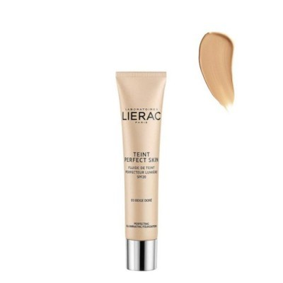 Lierac - Teint Perfect Skin Fluido Aperfeiçoador Luminosidade SPF20 03 Bege Dourado 30ml