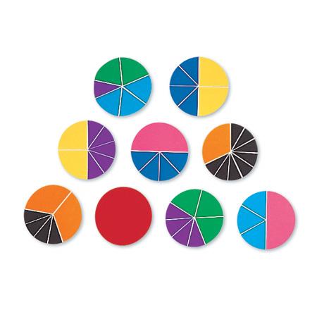 Frações circulares Deluxe