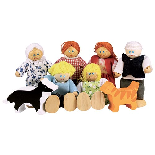 Bonecos - família