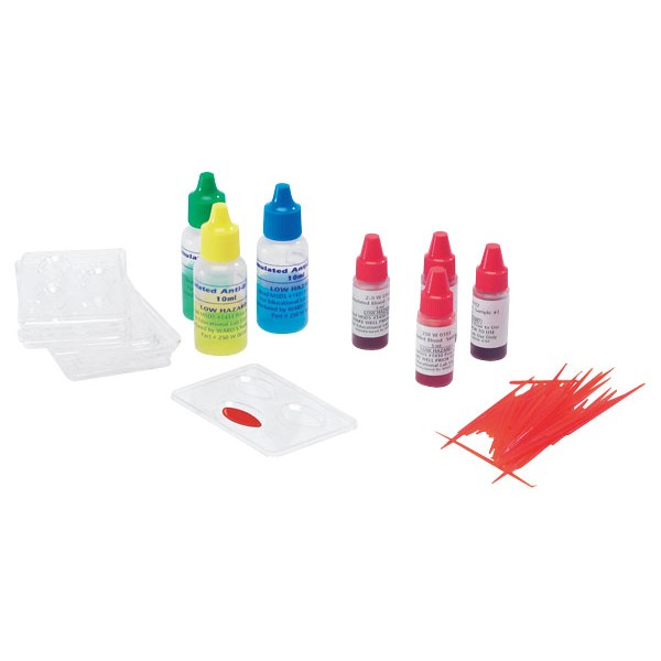 Recargas - Kit Grupo de Sangue