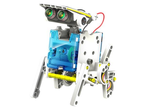 Kit Robô Solar Educativo 14 Em 1