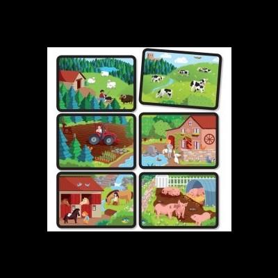 Puzzle de Associação - A Fazenda
