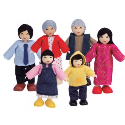 Família asiática