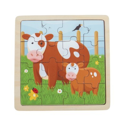 Puzzle Vaquinhas - 6 peças