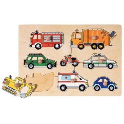 Puzzle - Meios de Transporte - 8 peças