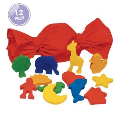 Jogo Memórias das Formas - 12 peças